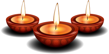 the hindu funeral home candles